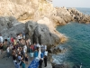 Beach and Cruise Wedding Reception on the Amalfi Coast