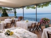 Restaurant wedding reception on the Amalfi Coast