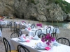 Wedding Dinner on the Beach in Conca dei Marini