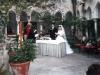 Wedding in a cloister in Amalfi