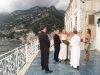 Wedding on a terrace in Amalfi