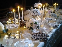 Amalfi Coast Wedding Sweets and Candy Table