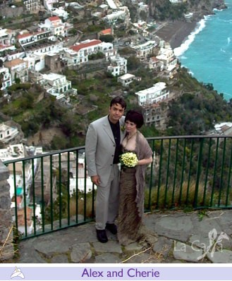 Alex and Cherie, wedding testimonials from Australia
