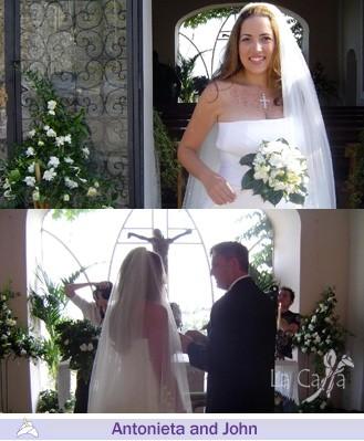 Antonieta and John, wedding testimonials from United States