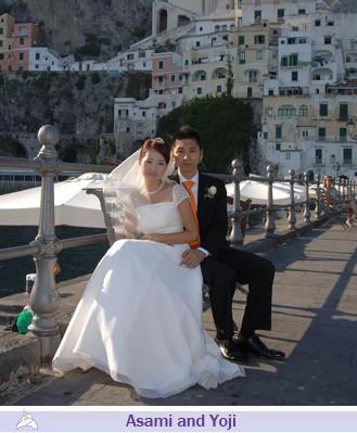 Asami and Yoji, wedding testimonials from Japan