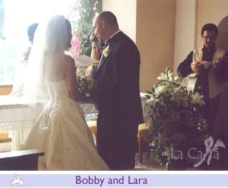 Bobby and Lara, wedding testimonials from United States