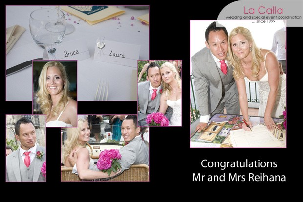 Bruce and Laura, wedding testimonials from United Kingdom