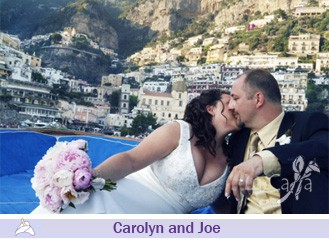 Carolyn and Joe, wedding testimonials from Canada