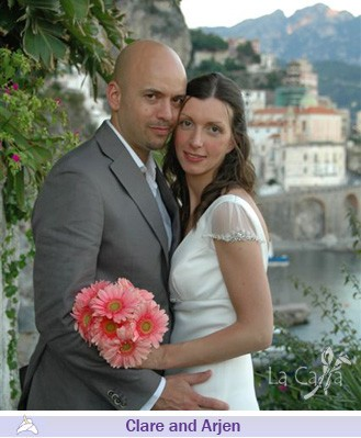Clare and Arjen, wedding testimonials from United Kingdom