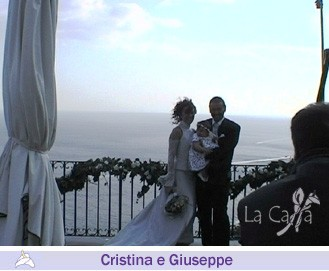 Cristina and Giuseppe, wedding testimonials from Italy