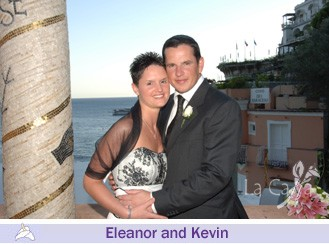 Eleanor and Kevin, wedding testimonials from Ireland