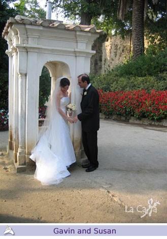 Gavin and Susan, wedding testimonials from Australia