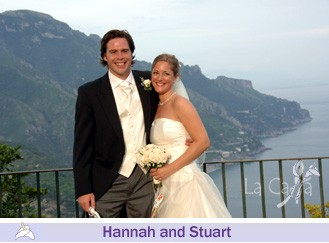 Hannah and Stuart, wedding testimonials from United Kingdom