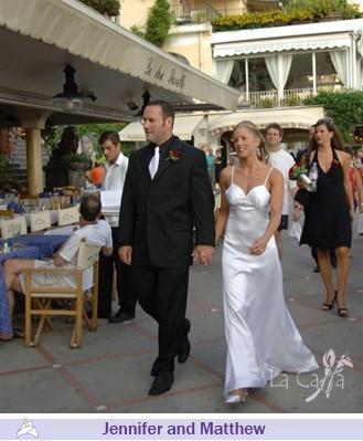 Jennifer and Matthew, wedding testimonials from United States
