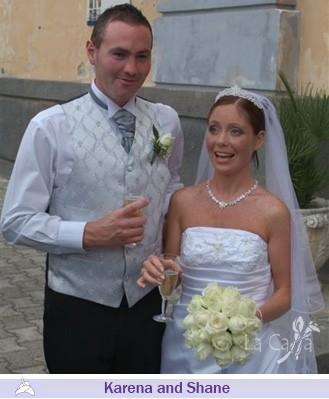 Karena and Shane, wedding testimonials from Ireland