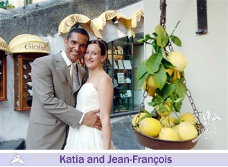Katia and Jean Francois, wedding testimonials from United Kingdom