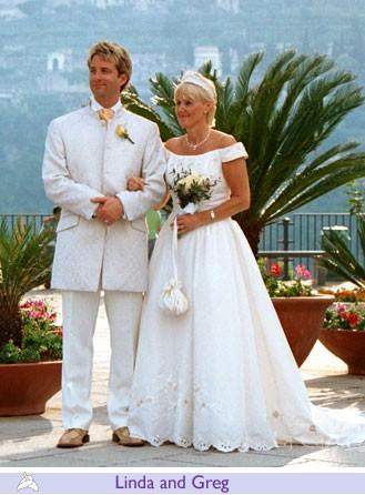 Linda and Greg, wedding testimonials from United Kingdom