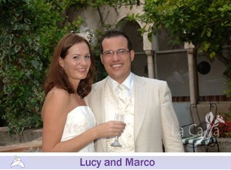 Lucy and Marco, wedding testimonials from United Kingdom