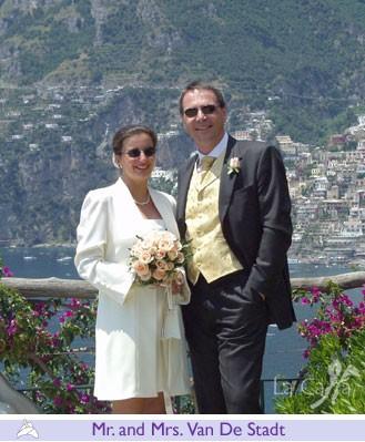 Mr. and Mrs. Van De Stadt, wedding testimonials from Belgium
