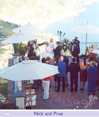 Nick and Prue, wedding testimonials from Australia