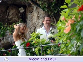 Nicola and Paul, wedding testimonials from United Kingdom