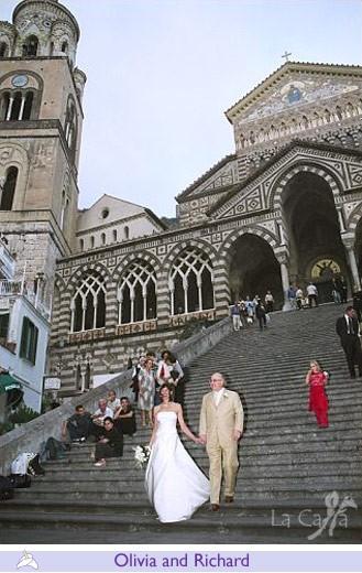 Olivia and Richard, wedding testimonials from Canada