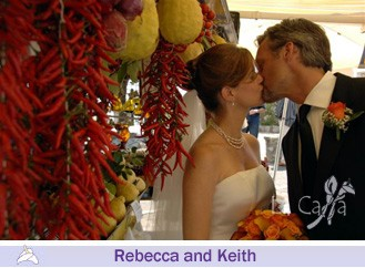 Rebecca and Keith, wedding testimonials from United States