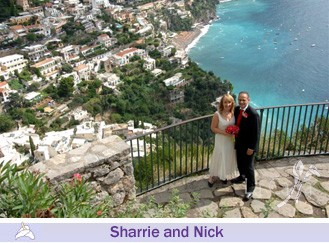 Sharrie and Nick, wedding testimonials from United Kingdom