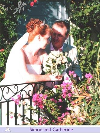 Simon and Catherine, wedding testimonials from United Kingdom