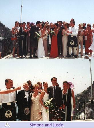 Simone and Justin, wedding testimonials from United Kingdom