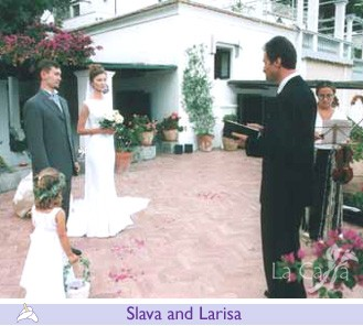 Slava and Larisa, wedding testimonials from Russian Federation