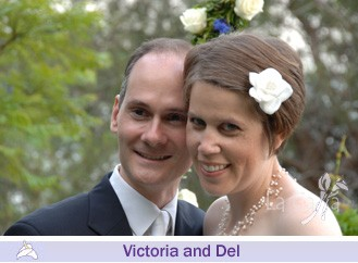 Victoria and Del, wedding testimonials from United States