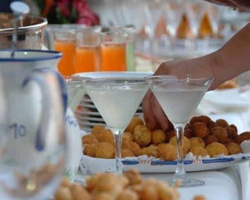 The Italian wedding menu